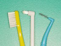歯磨き道具毛先
